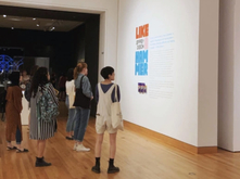 Students in ART 496 visiting a Seattle Art Museum exhibition