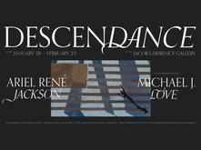 Descendance exhibition graphic identity
