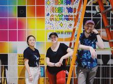Joylyn Yang, Rachel Connelly, and Cody Scott