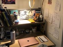 Katherine Munoz-Castano's home work space