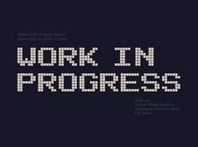 MDes work in progress graphic
