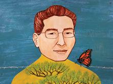 Portrait of Richard Yamasaki by Michelle Kumata