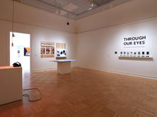 Work by Phillip Carpenter, Kelsey Aschenbeck (next room), Derek Burkhardsmeier, Angela Piccolo