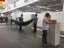 UW x SFAI installation in progress