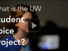 Vimeo link to What is the Student Voice Project?